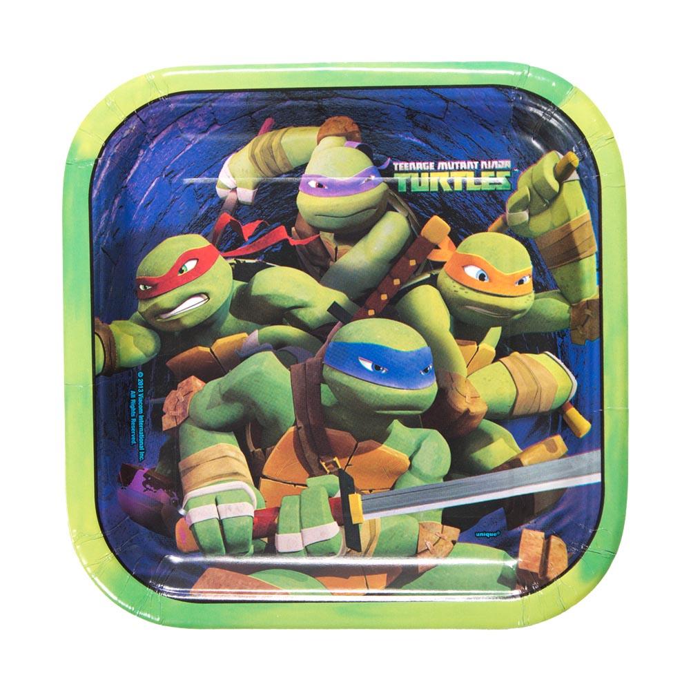 """Teenage Mutant Ninja Turtles 9"""""""" Plates"""" 203-919"""