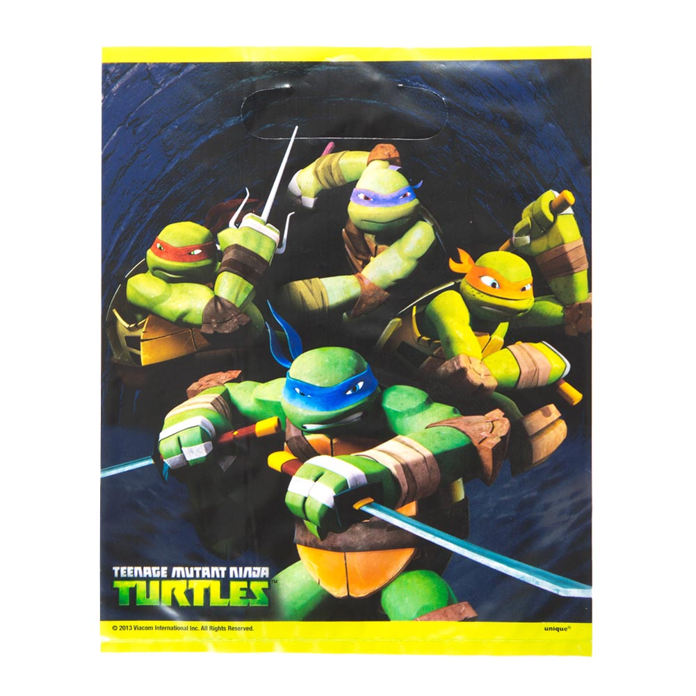 Teenage Mutant Ninja Turtles Loot Bags 203-923