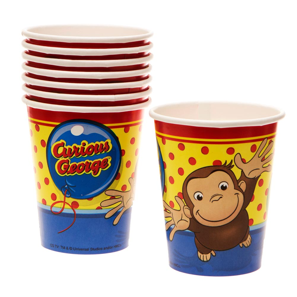 Curious George 9 oz. Cups 203-939
