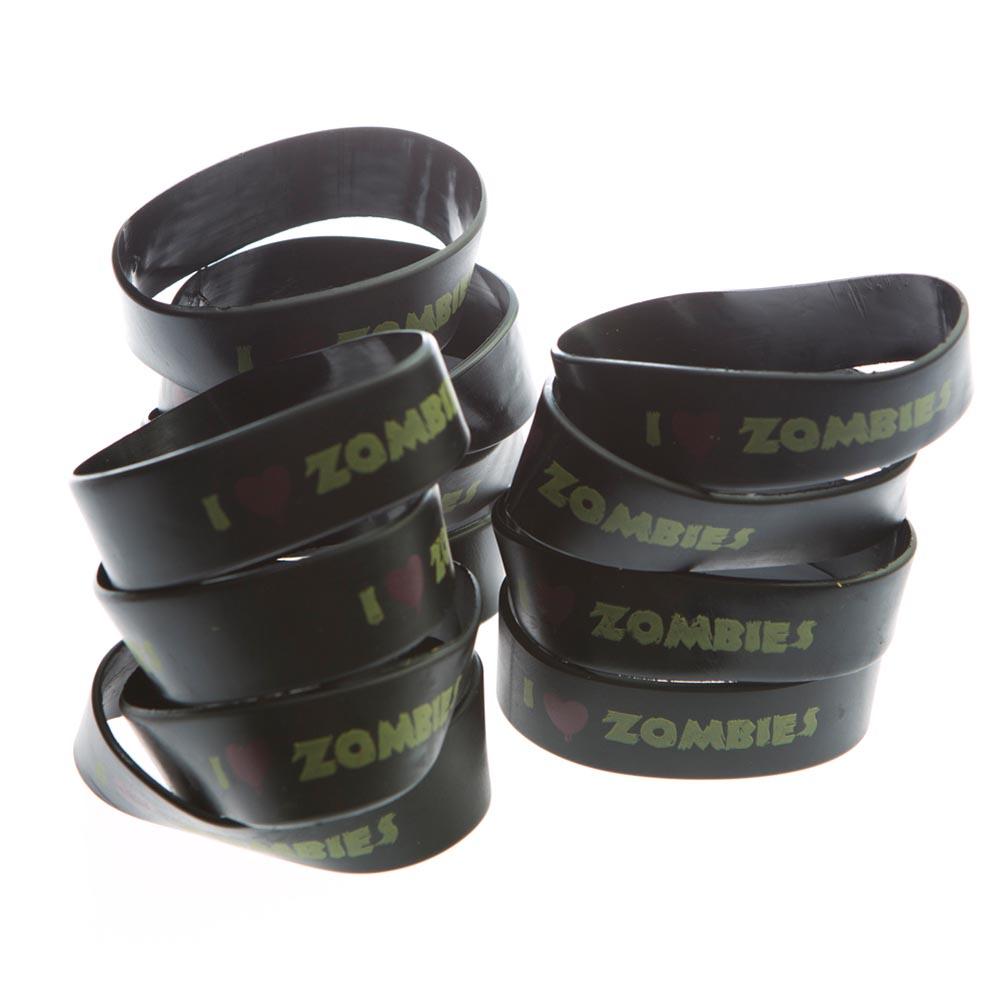 I Heart Zombies Rubber Bracelets 209-1070