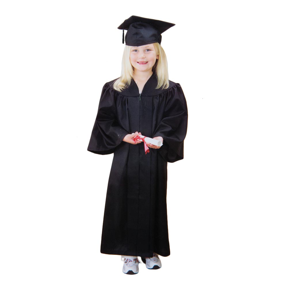 Child\'s Black Graduation Cap & Gown 692760428080 | eBay