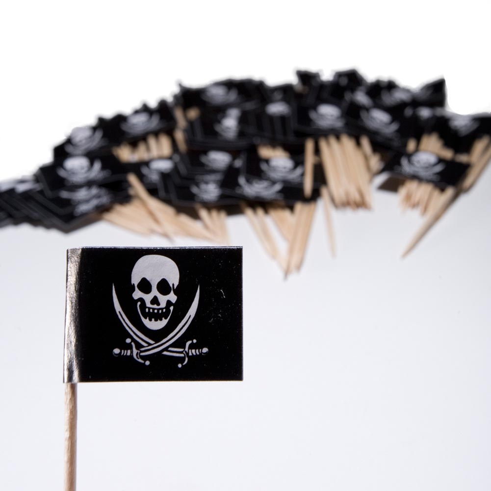 Deluxe Pirate Flag Picks
