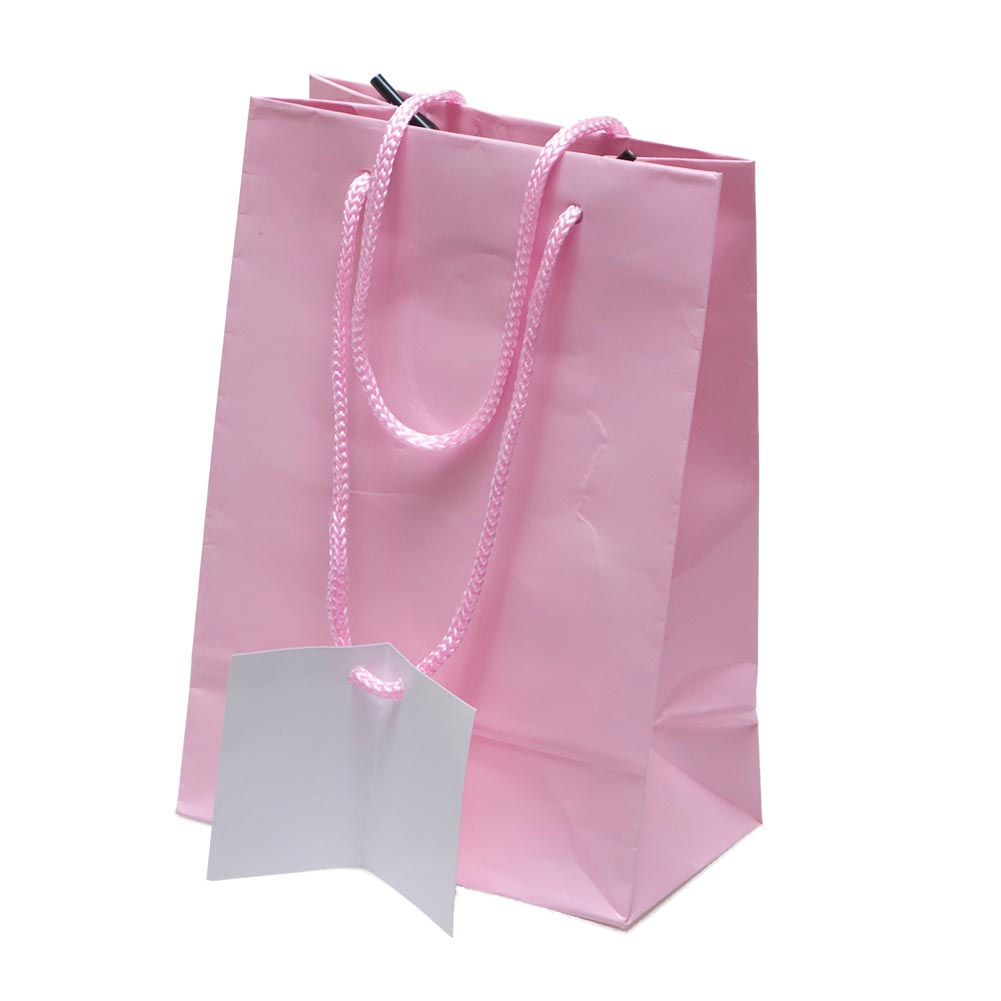 Small Pink Gift Bags