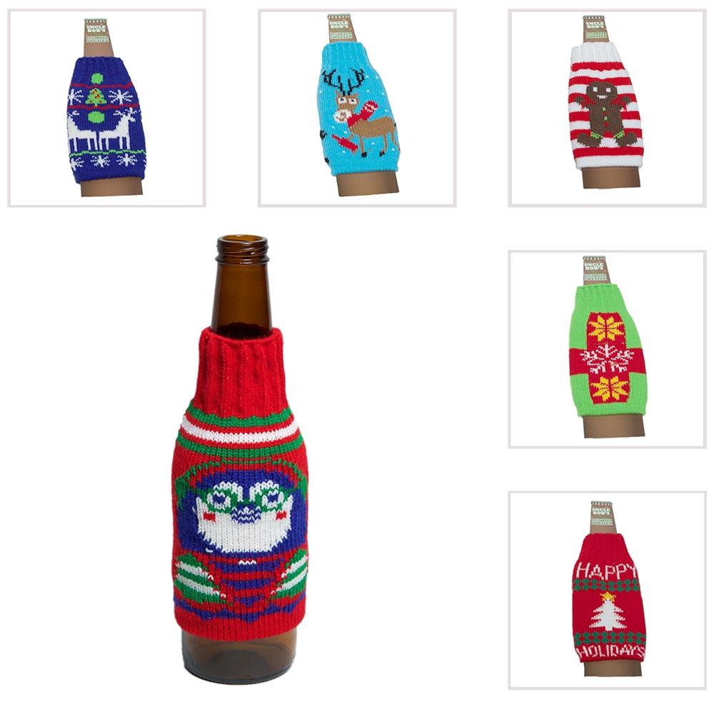Ugly Christmas Sweater Beer Bottle Cover 722950265253 | eBay