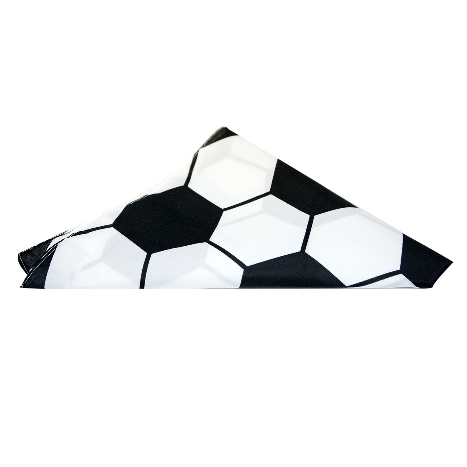 Soccer Ball Pattern Bandana