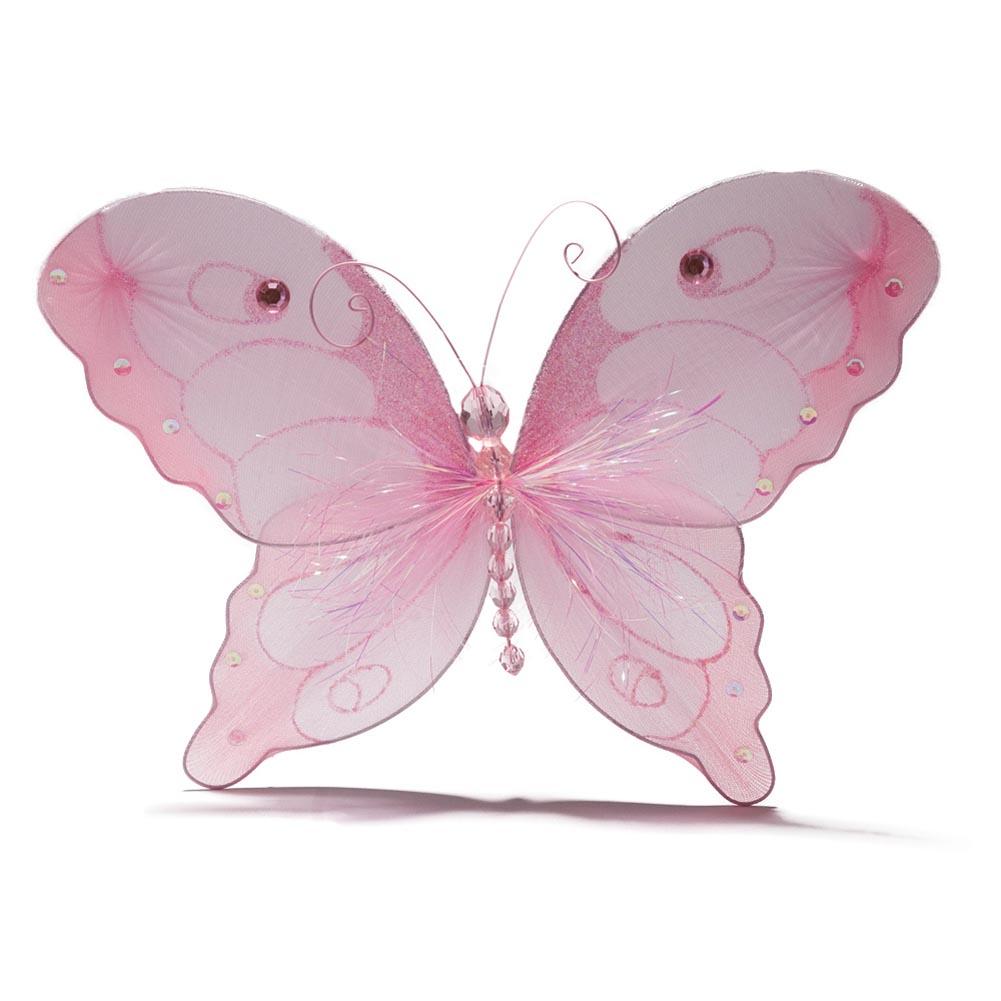 "10"""" Nylon Pink Butterfly"" 432-026"