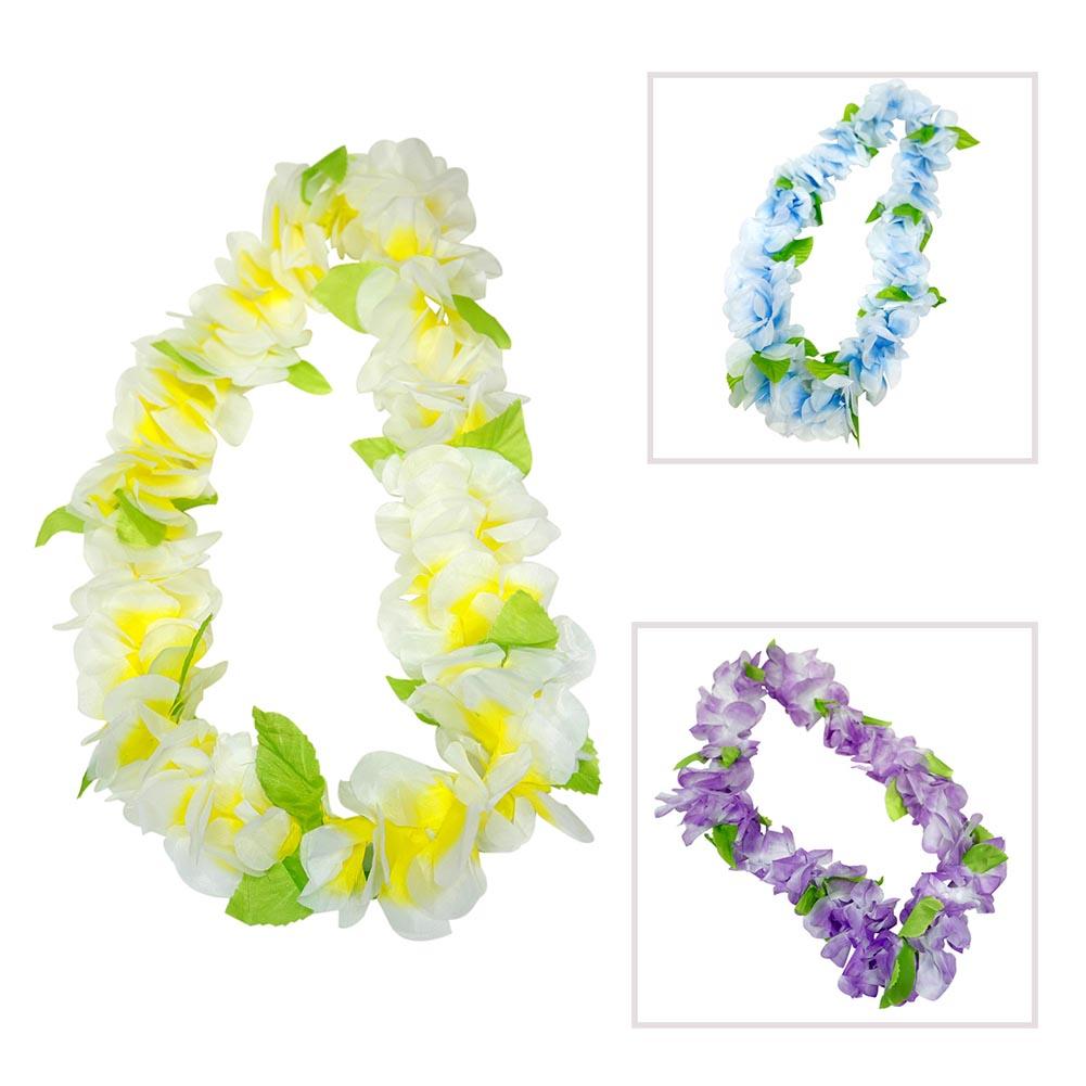 Hawaiian Flower Lei 859216006807 Ebay
