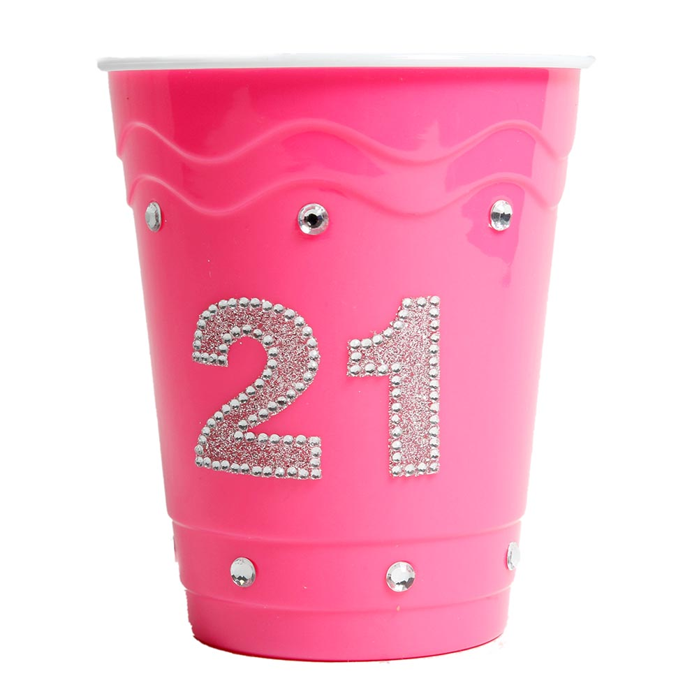21 Hot Pink Cup 437-159